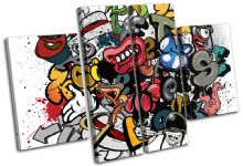 Grafitti Art Illustration - 13-0269(00B)-MP17-LO